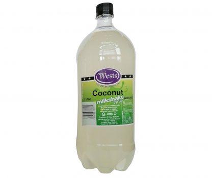 Coconut Milkshake Syrup 2L - Wests