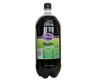 Rum Milkshake Syrup 2L (Wests)