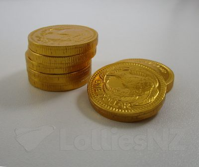 Chocolate $1 Coins – 1kg 1
