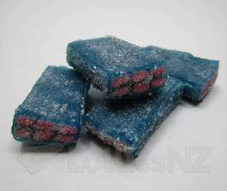 Sour Blue Raspberry Bricks - 2kg