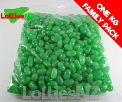 Green Jelly Beans - 1kg