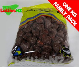 Choc Strawberry Hearts - 1kg