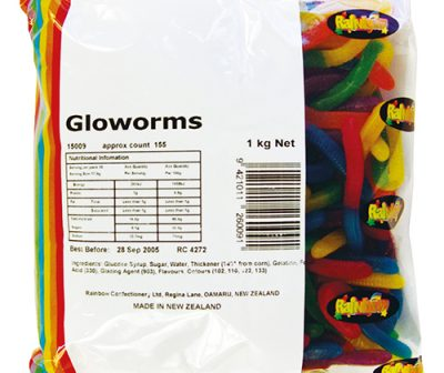 rainbow glow worms