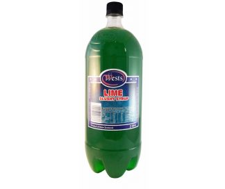 Lime Slushy Syrup 2L - Wests