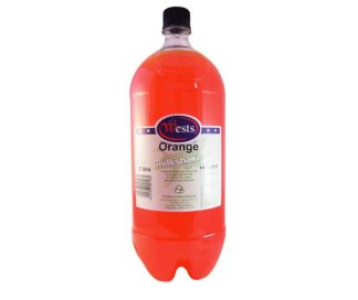 Orange Milkshake Syrup 2L - Wests
