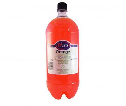 Orange Milkshake Syrup 2L - Wests