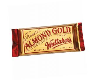Almond Gold Chocolate Bar - 50 x 45gm
