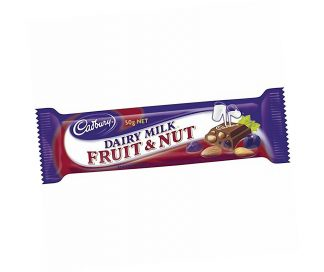 Dairy Milk Fruit & Nut Bar - Bulk 42 x 50gm