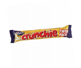 Crunchie Bar Twin Pack - Bulk 24 x 80gm