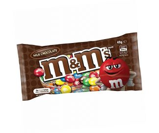 M & M's Milk Chocolate - Bulk 12 x 49gm