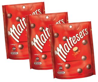 Maltesers 140gm - 3 Packs