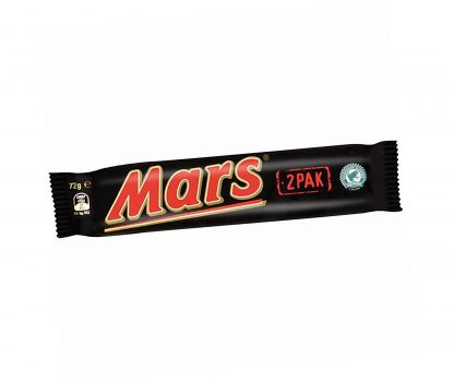 Mars Bar Twin Pack- Bulk 24 x 72gm