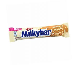 Milky Bar Nutty & Crunchy - Bulk 36 x 45gm