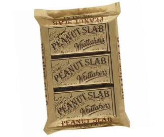 Peanut Slab Chocolate Bar 3 x 50gm