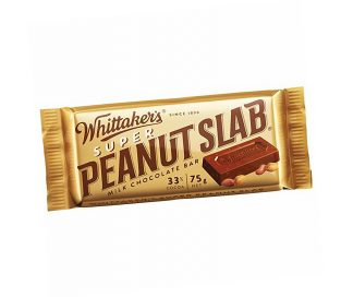Super Peanut Slab Chocolate Bar - Bulk 30 x 75gm