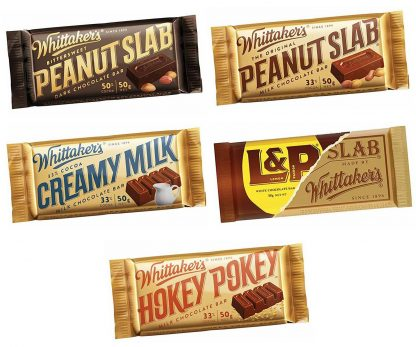 Whittaker's Slab Chocolate Bars - Bulk 50 x 50gm