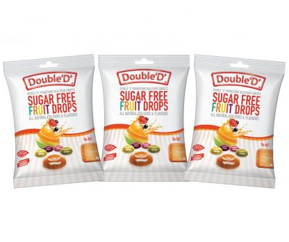 Double D Sugar-Free Fruit Drops 3 x 70gm