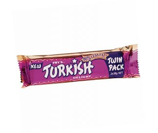 Frys Turkish Delight Chocolate Bar Twin Pack 2 x 38g