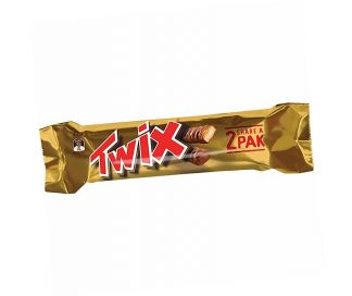 Twix Chocolate Bar Twin Pack - Bulk 20 x 72gm