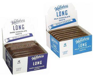Whittaker's Sante Chocolate Bars Unwrapped - Bulk 48 x 25gm