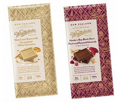Whittaker's Artisan Chocolate 100gm