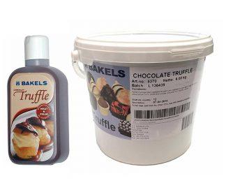 Bakels Chocolate Truffle Filling - 1kg/6kg Packs