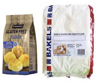 Bakels GF Flour 800gms/4kg Packs