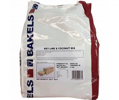 Bakels Key Lime & Coconut Mix 4kg