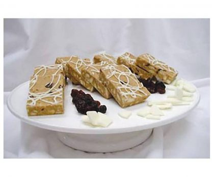 Bakels White Chocolate /Cranberry Slice Mix 4KG