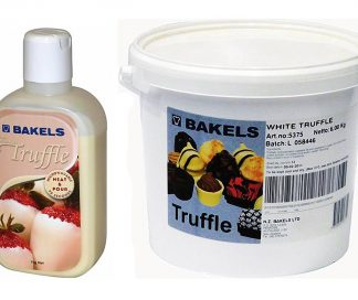 Bakels White Chocolate Truffle Filling - 1kg/6kg Packs