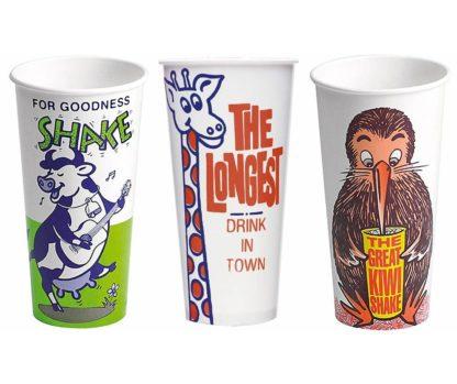 Milkshake Cups - Bulk 25 x 800ml