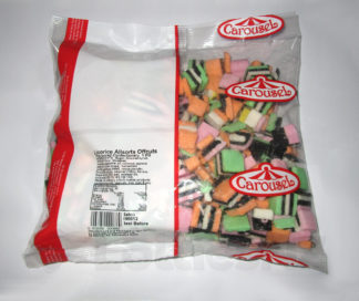 Licorice Allsorts Offcuts - 1kg