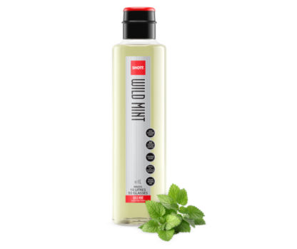 Natural Wild Mint Syrup 1L - Shott