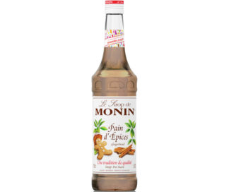 Monin Natural Gingerbread Syrup 700ml