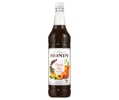 Monin Natural Peach Tea Syrup 1L