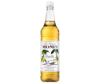 Monin Natural Vanilla Syrup 1L