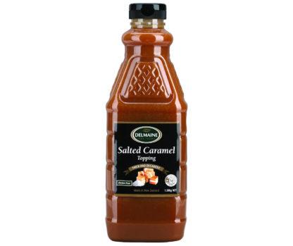 Salted Caramel Dessert Topping 1.35kg - Delmaine