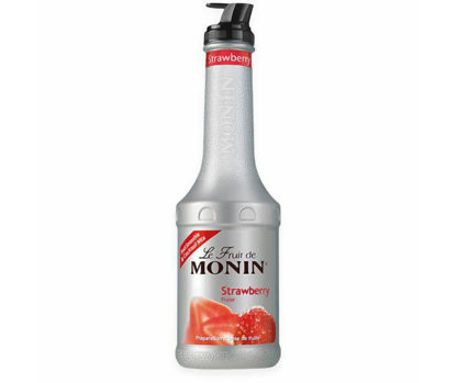 Monin Strawberry Fruit Puree 1L