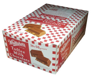 Whittaker's Toffee Milk Chocolate