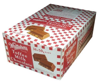 Whittaker's Toffee Milk Chocolate