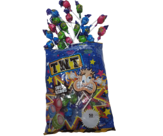 TNT Sour Lollipops