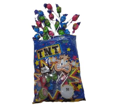 TNT Sour Lollipops
