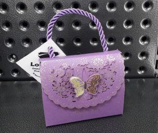 Purple Gift Purse 100gm - Selection!