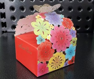 Butterfly and Flowers Gift Box 100gm - Selection!